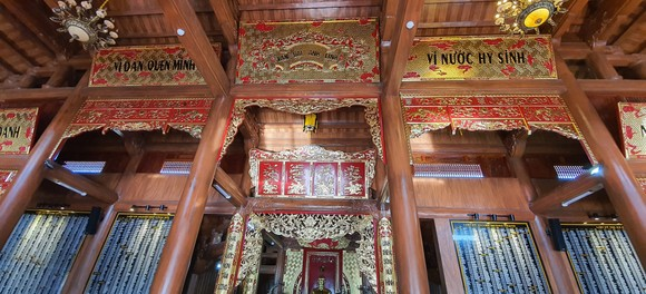 Hoàn thành đền thờ Bác Hồ và các anh hùng liệt sĩ Quảng Bình ảnh 8