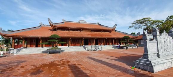 Hoàn thành đền thờ Bác Hồ và các anh hùng liệt sĩ Quảng Bình ảnh 1