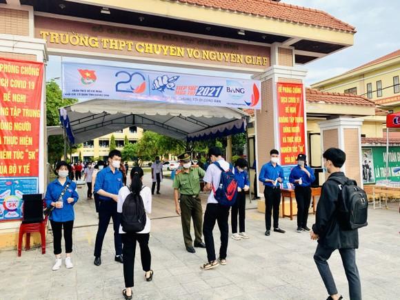 Điểm thi tại Trường THPT chuyên Võ Nguyên Giáp, thành phố Đồng Hới