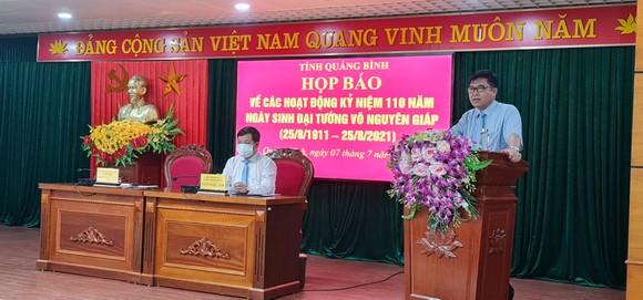 Quảng Bình: Công bố chương trình cấp Quốc gia Kỷ niệm 110 năm ngày sinh Đại tướng Võ Nguyên Giáp ảnh 1
