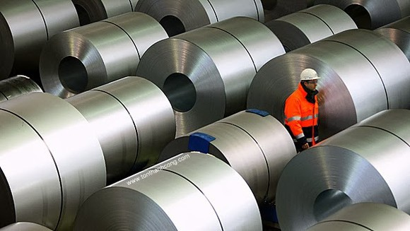 Cổ phiếu thép đang ở mức cao nhất lịch sử nhờ giá thép tăng đột biến