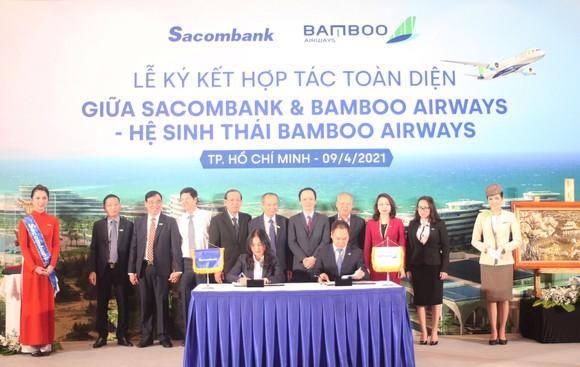 Sacombank và Bamboo Airways hợp tác toàn diện ảnh 1