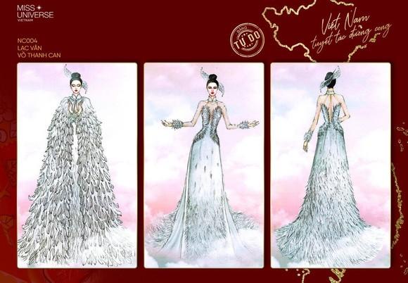 Võ Hoàng Yến, H'Hen Niê giúp Khánh Vân tìm ra trang phục dân tộc thi Miss Universe ảnh 13
