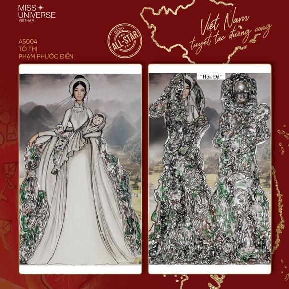 Võ Hoàng Yến, H'Hen Niê giúp Khánh Vân tìm ra trang phục dân tộc thi Miss Universe ảnh 10