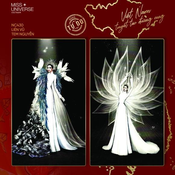 Võ Hoàng Yến, H'Hen Niê giúp Khánh Vân tìm ra trang phục dân tộc thi Miss Universe ảnh 11