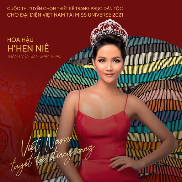 Võ Hoàng Yến, H'Hen Niê giúp Khánh Vân tìm ra trang phục dân tộc thi Miss Universe ảnh 5