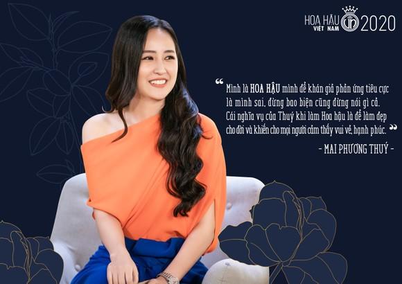 Mai Phương Thúy: 'Không phải vì trở thành hoa hậu mà em đẹp hơn mọi người' ảnh 3