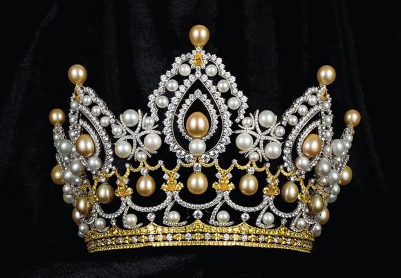 Công bố vương miện Hoa hậu Việt Nam 2020 và các vật phẩm đăng quang ảnh 13
