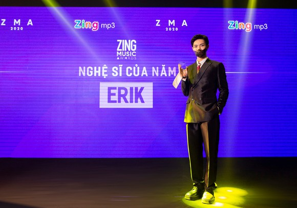 """Jack lập cú đúp 2 giải thưởng, Erik là """"Nghệ sĩ của năm"""" tại Zing Music Award 2020 ảnh 1"""
