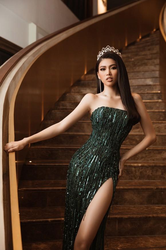 Á hậu Ngọc Thảo họp báo qua livestream, công bố đại diện Việt Nam tham dự Miss Grand International 2020 ảnh 4