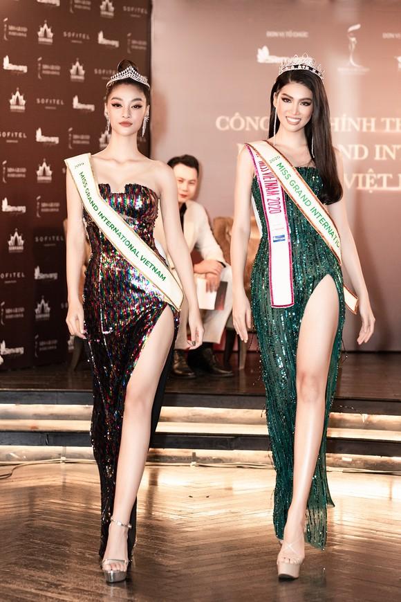 Á hậu Ngọc Thảo họp báo qua livestream, công bố đại diện Việt Nam tham dự Miss Grand International 2020 ảnh 3