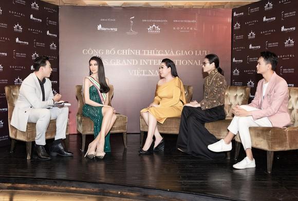Á hậu Ngọc Thảo họp báo qua livestream, công bố đại diện Việt Nam tham dự Miss Grand International 2020 ảnh 2