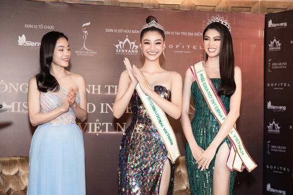 Á hậu Ngọc Thảo họp báo qua livestream, công bố đại diện Việt Nam tham dự Miss Grand International 2020 ảnh 1