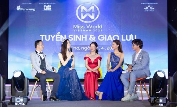 Miss World Vietnam 2021 khai hội 'tuyển sinh' tại Đại học Nam Cần Thơ ảnh 1