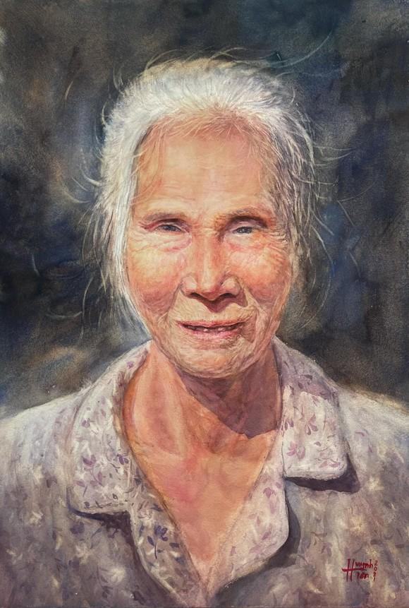 Côn Đảo thiêng liêng, sống động trong tranh màu nước  ảnh 12