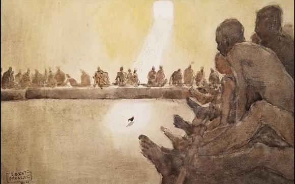 Côn Đảo thiêng liêng, sống động trong tranh màu nước  ảnh 9