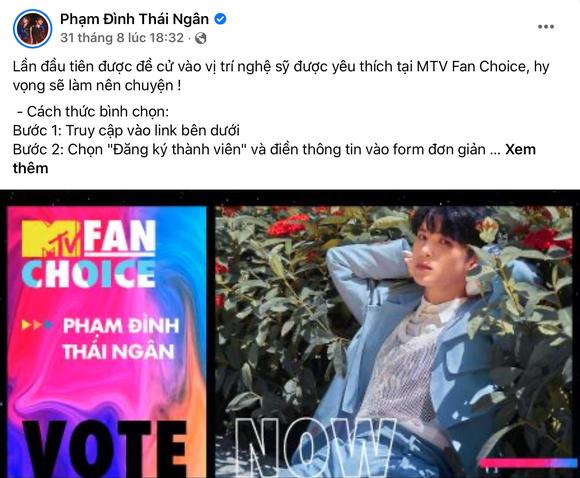 Lộ diện Top 3 MTV Fan Choice2021 ảnh 4