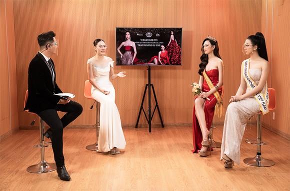 Trần Hoàng Ái Nhi đại diện Việt Nam tham dự Miss Intercontinental Vietnam 2021 ảnh 2