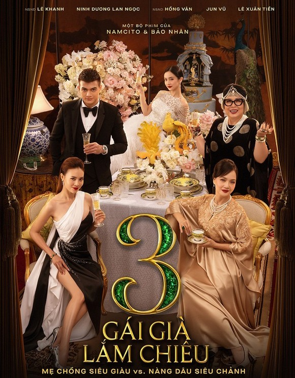 Phim Gái già lắm chiêu phần 3 sẽ công chiếu rạp từ mùng 1 tết ảnh 3