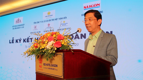Báo SGGP và khách sạn Rex Sài Gòn đẩy mạnh hợp tác toàn diện ảnh 2