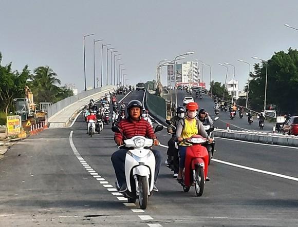 Sáng nay 18-1, thông xe cầu Quang Trung mới ở Cần Thơ  ảnh 2