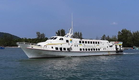 Tăng chuyến tàu cao tốc ra đảo Phú Quốc ảnh 1