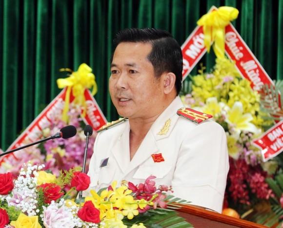 Đại tá Đinh Văn Nơi tái đắc cử Bí thư Đảng ủy Công an tỉnh An Giang  ảnh 3
