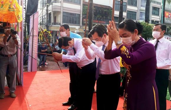 Dâng hương kỷ niệm 152 năm Anh hùng dân tộc Nguyễn Trung Trực hy sinh  ảnh 1