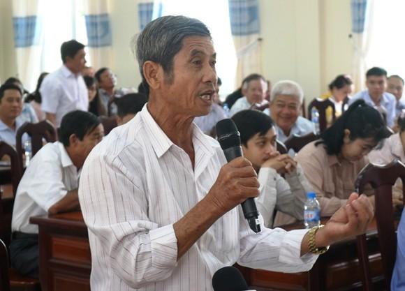 Đồng chí Trần Thanh Mẫn tiếp xúc cử tri TP Cần Thơ  ảnh 1