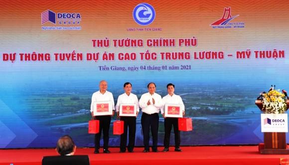 Cao tốc Trung Lương – Mỹ Thuận chính thức thông tuyến kỹ thuật ảnh 2