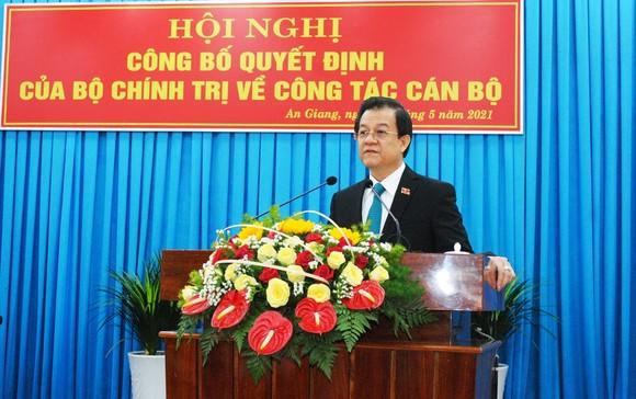 Đồng chí Lê Hồng Quang giữ chức Bí thư Tỉnh ủy An Giang ảnh 2