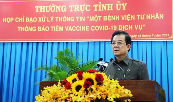 An Giang xử lý nghiêm Bệnh viện Hạnh Phúc đăng thông báo tiêm dịch vụ vaccine Covid-19  ảnh 3