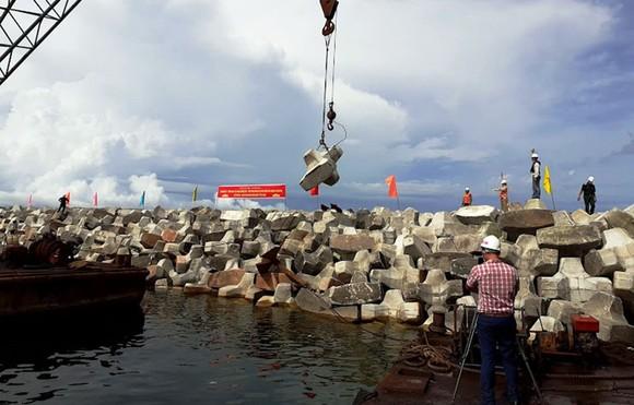 Cảng hành khách quốc tế Phú Quốc hoàn thành hơn 75% khối lượng ảnh 1