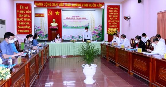 Phó Chủ tịch nước Võ Thị Ánh Xuân biểu dương công tác phòng chống dịch ở Đồng Tháp ảnh 1