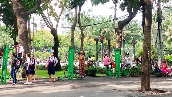 Hướng đến toàn bộ công viên 23-9 dành cho việc vui chơi, giải trí của người dân