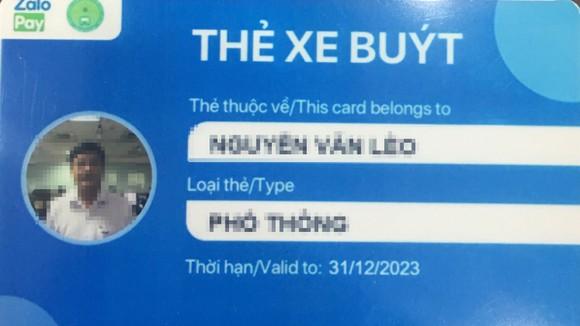 Thẻ  thanh toán vé xe buýt điện tử