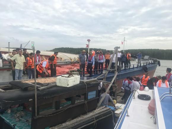 Nạo vét luồng cho tàu có mớn nước 9,5m qua khu vực chìm tàu ở Cần Giờ ảnh 4