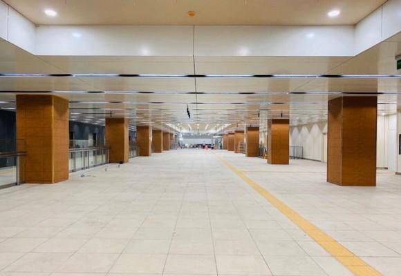 Tầng hầm B1 Ga Nhà hát Thành phố tuyến metro Bến Thành-Suối Tiên sẵn sàng đón khách tham quan ảnh 1