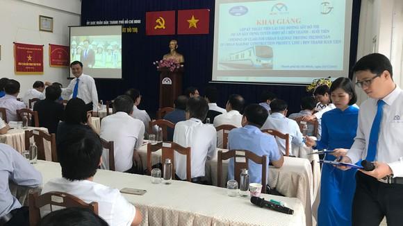 Khai giảng khóa học lái tàu đầu tiên tuyến Metro số 1 Bến Thành - Suối Tiên