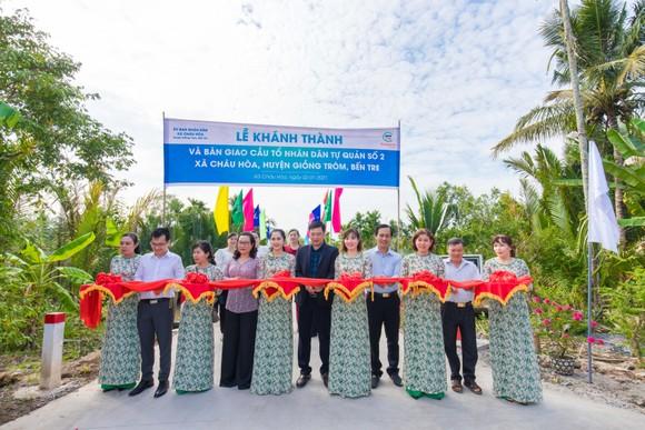 8 tỷ đồng xây dựng cầu đường nông thôn ở huyện Giồng Trôm, tỉnh Bến Tre ảnh 1