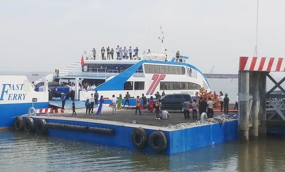 Phải đảm bảo an toàn cho tuyến phà biển Cần Giờ - Vũng Tàu ảnh 1