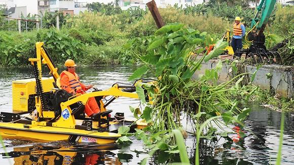 13 tỷ đồng thu gom chất thải trên sông Vàm Thuật ảnh 1