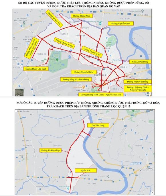 Tạm ngưng vận chuyển hành khách trên địa bàn quận Gò Vấp và quận 12 ảnh 1