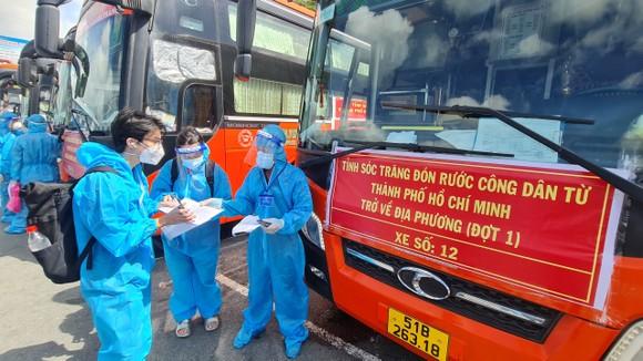 Bình Định, An Giang đón 850 người dân khó khăn về quê tránh dịch Covid-19 ảnh 2