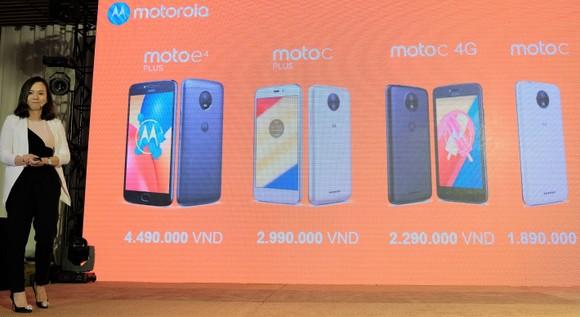 "Motorola tung bốn smartphone giá ""mềm"" ảnh 2"