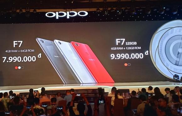 OPPO F7 chính thức được giới thiệu tại Việt Nam ảnh 4