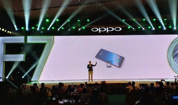 OPPO F7 chính thức được giới thiệu tại Việt Nam ảnh 1