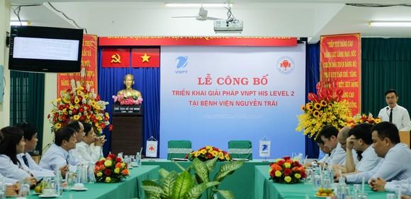 VNPT đưa VNPT-HIS level 02 ứng dụng ở Bệnh viện Nguyễn Trãi ảnh 1