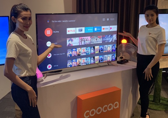 TV Coocaa đã vào thị trường Việt Nam