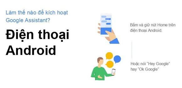 Cài đặt trợ lý ảo Google Assistant Tiếng Việt trên điện thoại Android và iSO ảnh 1